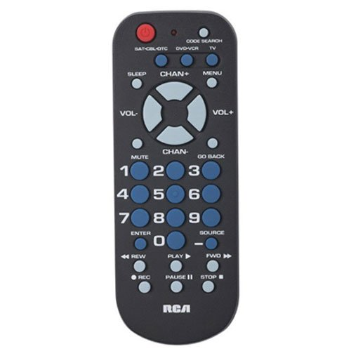 big button remote control manual