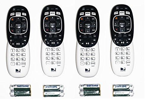 4 pack  u2013 directv rc73 ir  rf remote control  u2013 televisionery
