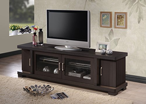 Wholesale interiors baxton studio walda wood tv cabinet with 2 sliding doors and 2 drawers 70 for Wholesale interiors baxton studio 71 tv stand