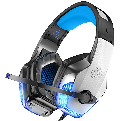 NEWEST 2018 UPGRADED Gaming Headset for XBox One, PS4, PC