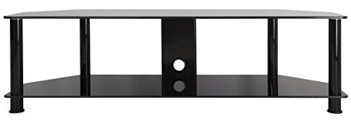 AVF SDC1400CMBB-A TV Stand with Cable Management for up to