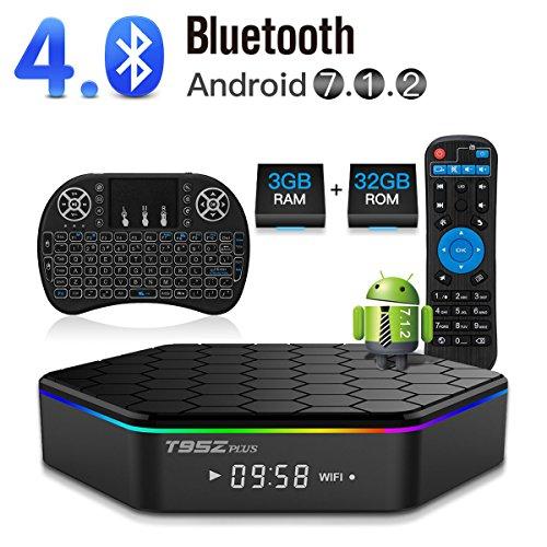 Favormates Air Remote Mouse MX3 Pro,2 4G Backlit Kodi Remote